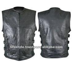 Leather Vest Motorcycle Vest Motor Bike Vest Biker Vest Woman Racing Vest Man Leather Vest