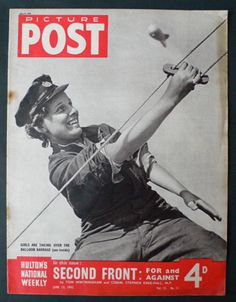 In January 1941 it was suggested that the Women's Auxiliary Air Force (WAAF) could take over the operation of barrage balloons, thereby releasing men for front-line duties. Magazine Pictures, World Population, Out Of Focus, Female Soldier, Persecution, Life Magazine, Photojournalism, Vintage Photographs, World War Two