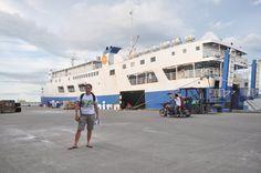 before boarding(MV Transasia) from ilo-ilo to Cebu; June 2011
