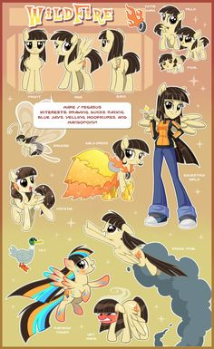 WildFire Ultimate Reference Guide by Centchi on DeviantArt
