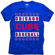 Chicago Cubs Triblend T-Shirt  - MLB.com Shop