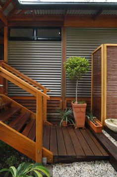 Bush Pavilion Homes - Corrugated Roof Sheeting