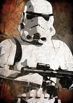 Storm Trooper for the Star Wars Room
