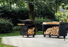 Firewood, Barbecue, Outdoor Decor, Garden, Architecture, Home Decor, Ideas, Fire Places, Grilling