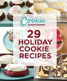 29 Holiday Cookie Recipes you have to see to believe! Find the cutest cookie recipes every day leading up to Christmas. Spread holiday cheer with sugar, spice and cookies galore! Perfect for if you are hosting a cookie swap, exchange or party.