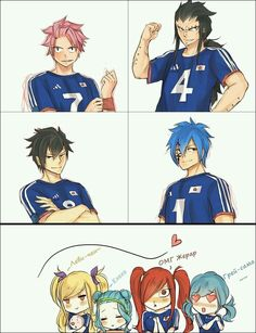 football match (the best is jellal) if you're not sharing the same feeling keep it to you