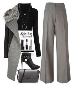 """""""Untitled #580"""" by jovana-p-com ❤ liked on Polyvore featuring Erika Cavallini Semi-Couture, Valentino, River Island, Kendall + Kylie, MAC Cosmetics, Botkier, Gucci, Smith & Cult and Sergio Rossi"""