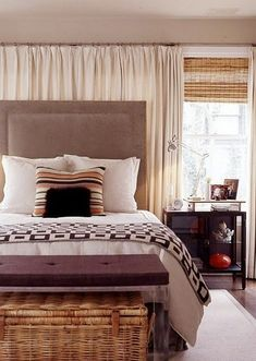 Ways To Use Sheer Curtains And Valences | Sheer Curtains, Lights And  Bedrooms