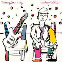 Adrian Belew: Twang Bar King, cover by Mike Getz