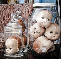 creepy doll head, a steal at $22 | Flickr - Photo Sharing!