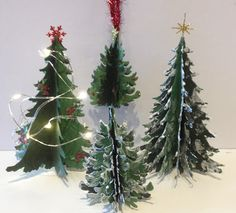 3D Christmas Paper Tree Tutorial | annes papercreations | Bloglovin'
