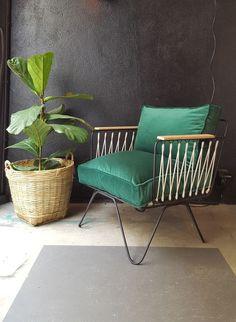 honor d coration fauteuils et tabourets fauteuil croisette velours design pinterest. Black Bedroom Furniture Sets. Home Design Ideas