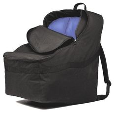 JL Childress Ultimate Car Seat Travel Bag, Black (052678021009) Car seat travel bag features padded, adjustable backpack straps for carrying comfort Fits Britax Marathon, Boulevard, Roundabout, Decathlon and Diplomat, also fits Recaro, Evenflo, Cosco, Century, Eddie Bauer, etc Water resistant, heavy duty fabric cleans easily and protects car seat from moisture To ensure that this item fits your car seat, check the compatibility chart below in Technical Specification section below.