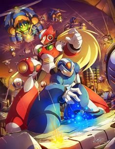 Should play some Megaman... Zero looks awesome :O