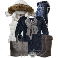 Trying to Stay Warm, created by shannonmarie-94 on Polyvore