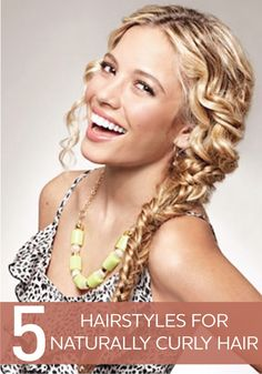 5 Hairstyles for naturally curly hair. Walgreens.com has everything you need to treat your tresses.