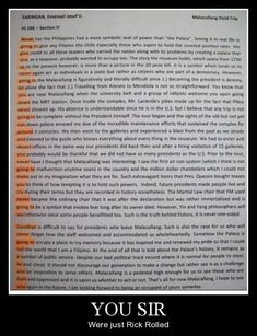 Did this author purposefully Rick Roll us all: