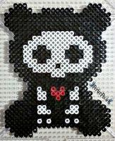 Skelanimals ChungKee the Bear by PerlerPixie