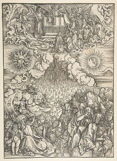 The Opening of the Fifth and Sixth Seals, from the Apocalypse Albrecht Dürer  (German, Nuremberg 1471–1528 Nuremberg) Woodcut