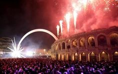 If you have a concept of celebrating New Year Eve 2020 in warm lights, magical atmosphere, fireworks and much fun, join celebrations in Verona, Italy New Year's Eve 2019, New Years Eve Fireworks, Fire Dancer, Fire Works, Verona Italy, Sparklers, Photo Credit, Europe, Activities