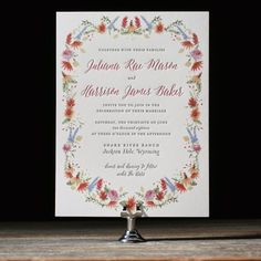 Bella Figura invitation available at Ply | PLY: The Ultimate Paper Blog