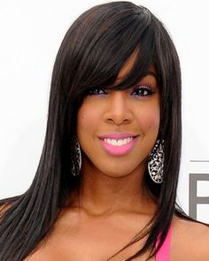 Swell Long Hairstyles Side Bangs And Hairstyles With Side Bangs On Short Hairstyles For Black Women Fulllsitofus