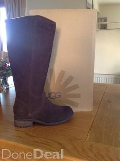 UGG Australia Seldon boots For Sale in Westmeath : - DoneDeal. Boots For Sale, Ugg Australia, Riding Boots, Knee Boots, Uggs, What To Wear, Buy And Sell, Footwear, Stuff To Buy