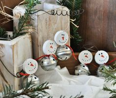 Snowman Ornaments-Am I the only one who sees these and thinks of Charlie Brown?