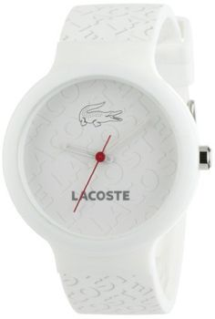Lacoste White Silicone Strap Ladies Watch - 2010547 Lacoste. $85.50. Save 10% Off!