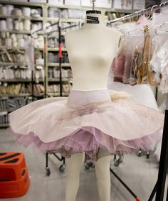 Costumes being created for our Storytime Ballet: The Nutcracker