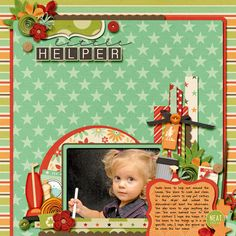 Great scrapbooking!