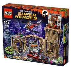 Kapow! Lego DC Comics Super Heroes - Batman 66 (76052) Batcave Details & Images. www.FLYGUY.net #lego #dc #superheroes #batman #batman66 #batcave #batcopter #batmobile #batbike #batman #robin #alfred #riddler #catwoman #joker #penguin