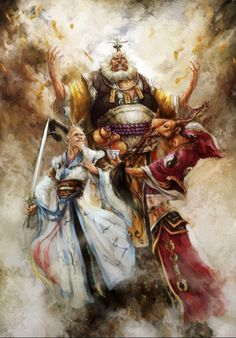 Fantasy art,magical imagination fairy,Mysterious oriental legend,chinese traditional culture,-Journey to the West