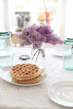 Dreamy Whites: A Favorite Pankcakes and Waffles Cookbook....Fete Et Fleur..... and House of Fifty