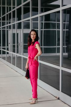 d4479379007c Spring s Hottest Jumpsuit - Pink Jumpsuit for Work