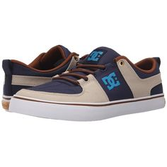 DC Lynx Vulc TX Skate Shoes ($50) ❤ liked on Polyvore featuring shoes and sneakers