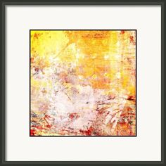 The Day Ahead Framed Print By Christine Obrien #contemporary #abstract #walldecor