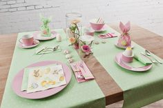 ZARTE FRÜHLINGSGEFÜHLE   DELICATE SPRING @home-fashion-Servietten.blogspot.de #Easter #spring #table #decoration