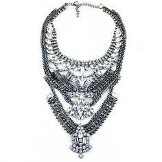 Haut Monde - CRSYTAL HAZE  NECKLACE, TT$200.00 (http://www.shophautmonde.com/crsytal-haze-necklace/)