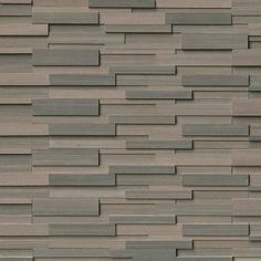 "Discount Glass Tile Store - Ledgestone - 3d Brown Wave 6"" x 24"" Panel, $12.85 (http://www.discountglasstilestore.com/ledgestone-3d-brown-wave-6-x-24-panel/)"