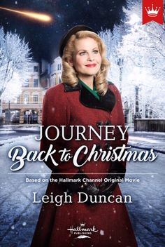 The gorgeous cover of JOURNEY BACK TO CHRISTMAS, available 10/17/17.