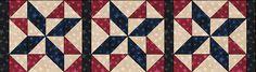 Free Quilt Patterns - Fat Quarter Shop - Moda Marbles Stars FREE QUILT TABLERUNNER PATTERN - Online Quilting Fat Quarter Bundles, Quilt Fabric, Original Quilt Kits & FREE Quilt Patterns