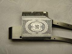 Martini Gunmakers - Custom Craftsmanship-Silke Ullrich engraver