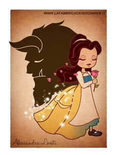 Belle [feat. Adam as the Beast] (by Fabbrica-Dei-Sogni @deviantART) #BeautyAndTheBeast