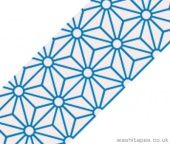 Blue 'Lace' Design Washi Tape