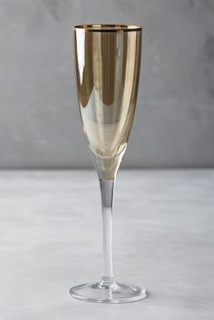 Anthropologie Ambrose Champagne Flute #anthrofave
