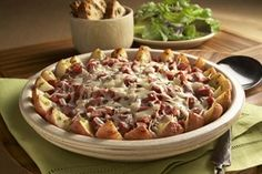 Rustic Corn Beef and Potato Bake. Perfect for St. Patty's Day!