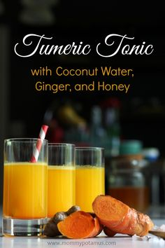 Fresh turmeric juice without a juicer - great for gentle detoxing and an energy boost