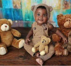 Cute Kids Pics, Cute Outfits For Kids, Kid Pics, Kid Photos, Funny Babies, Cute Babies, Baby Kids, Beautiful Black Babies, Beautiful Children