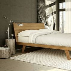 Canadian Modern furniture at its finest. . @Regrann from @mobican -  The Malta bed was selected for the Trend Watch display at HPMKT. It combines contemporary lines with retro lines.  It is shown in Matte Natural Teak.  #contemporarydesign #contemporaryfurniture #design #furniture #highqualityfurniture #mobican #modern #moderndesign #modernfurniture #qualityfurniture #woodfurniture #bedroomfurniture #Regrann #downtownbarrie #barrie #interiordesign by inhabit_interiors